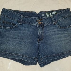 Mossimo Supply Co Blue Jean Shorts size 15